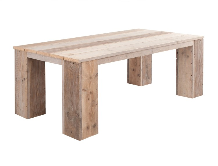 Steigerhout tafel voorbeeldje